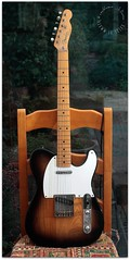 Fender Telecaster (zweiblumen) Tags: electricguitar instrument classic fendertelecaster 1950sreissue canoneos50d canonspeedlite430exii canonef35mmf2 yongnuorf603cii polariser zweiblumen