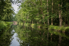 Summer days (fotosforfun2) Tags: surrey basingstokecanal canal water summer seasons reflection trees foliage beauty beautiful nature tourism tourist green landscape
