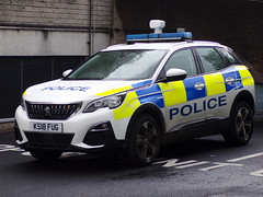 6419 - Lancs Police - Peugeot 3008 - KS18 FUG - 101_3190 (Call the Cops 999) Tags: uk gb kingdom great britain england 999 112 emergency service servives vehicle vehicles united police policing constabulary law and order enforcement 101 lancashire