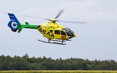G-SCAA EC135, Scone (wwshack) Tags: airbushelicopters ec135 egpt eurocopter psl perth perthkinross perthairport perthshire scaa scone sconeairport scotland scotlandscharityairambulance helicopter gscaa