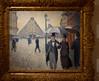 Gustave Caillebotte, Rue de Paris, oil sketch (William Allen, Image Historian) Tags: france paris painting caillebotte