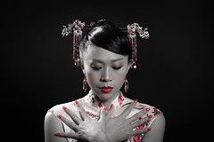 Asia style (frank.gronau) Tags: beauty tradicional tradition woman frau asia sony gronau frank