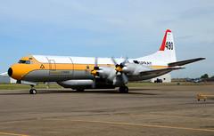 C-GZCF Tanker 490 makes emergency landing (John W Olafson) Tags: cgzcf l188 electra airtanker airspray