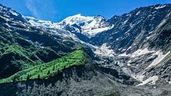 Aiguille et glacier de Bionnassay, France