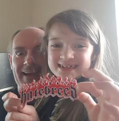 Day 173 (Iain Purdie) Tags: 2019 happy metal heavymetal patch kids hatebreed music