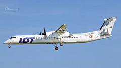 SP-EQK LOT - Polish Airlines De Havilland Canada DHC-8-402Q Dash 8 cn 4443 EDDH/HAM (thule100) Tags: speqk lotpolishairlines dehavillandcanada dhc8402q dash8 cn4443 eddh ham frankkrause