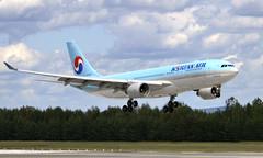 Korean HL8227, OSL ENGM Gardermoen (Inger Bjørndal Foss) Tags: hl8227 korean airbus a330 osl engm gardermoen