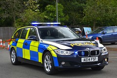 AE14 FSF (S11 AUN) Tags: bedfordshire hertfordshire cambridgeshire police bch cambs constabulary bmw 330d 3series estate touring ciu collision investigation unit osu operational support anpr traffic car rpu roads policing 999 emergency vehicle bchroadspolicing ae14fsf