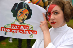 We are the resistance (radargeek) Tags: 2019 okcpride pride parade june oklahomacity summer facepaint jediokc starwars portrait bowie leia princess ziggystardust