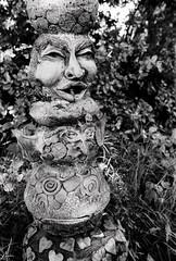 (a.pierre4840) Tags: olympus om3 zuiko 55mm f12 35mmfilm kosmofotomono100 bw blackandwhite noiretblanc statue sculpture dof depthoffield