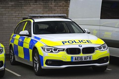 AE16 AFV (S11 AUN) Tags: bedfordshire police bmw cambridgeshire hertfordshire bch cambs constabulary car support traffic osu vehicle roads emergency unit 999 3series rpu operational policing 330d anpr bchroadspolicing ae14afv estate touring