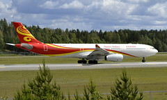 Hainan B-303C, OSL ENGM Gardermoen (Inger Bjørndal Foss) Tags: b303c hainan airbus a330 osl engm gardermoen