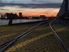 Sunset in Mannheim, Germany (Oliver Weihrauch) Tags: