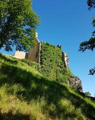 Chalucet (maggy le saux) Tags: châteaufort fortifiedcastle ruins medieval limousin lierre ivy diagonal
