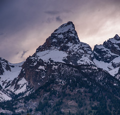 Top of the world (scott5024) Tags: sunset mountains grand teton national park landcspae nature snow capped purple clouds