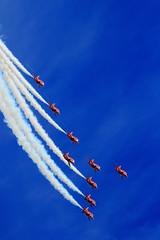 Red Arrows (jon lees) Tags: newcastle countydown northernireland airshow aircraft plane aerobatics display