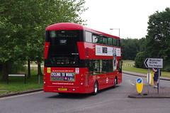IMGP1031 (Steve Guess) Tags: brooklands byfleet surrey england gb uk bus london museum brooklandsroad wellingtondrive wright gemini3 wh31128 hybrid sk19fcj tower transi brooklandsdrive wellingtonroad