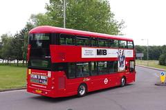 IMGP1030 (Steve Guess) Tags: brooklands byfleet surrey england gb uk bus london museum brooklandsroad wellingtondrive wright gemini3 wh31128 hybrid sk19fcj tower transi brooklandsdrive wellingtonroad
