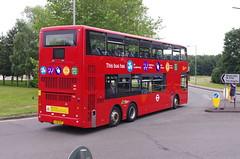IMGP1026 (Steve Guess) Tags: brooklands byfleet surrey england gb uk bus london museum brooklandsroad wellingtondrive triaxle ta1 lx18dgf goahead bci ensignbus vantage power brooklandsdrive wellingtonroad