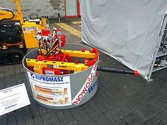 Wiertnica pozioma sterowana WPS-30S produkcji firmy Bipromasz