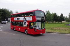 IMGP1028 (Steve Guess) Tags: brooklands byfleet surrey england gb uk bus london museum brooklandsroad wellingtondrive wright gemini3 wh31128 hybrid sk19fcj tower transi brooklandsdrive wellingtonroad