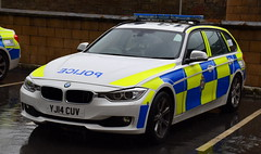 West Yorkshire Police - YJ14 CUV (Chris' 999 Pics) Tags: west yorkshire police bmw 330d 3 series diesel traffic cars rpu roads policing unit anpr automatic number plate recognition pursuit motorway patrol road safety protection law enforcement security 999 112 yj14cuv
