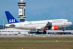 Scandinavian Airlines Airbus A320-200 OY-KAL | Milano - Malpensa (MXP-LIMC) | 31st May 2019 (Brando Magnani) Tags: