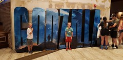 Heading to the Movies (heytampa) Tags: movietheater conner paxton hey sign godzilla