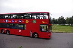 IMGP1025 (Steve Guess) Tags: brooklands byfleet surrey england gb uk bus london museum brooklandsroad wellingtondrive triaxle ta1 lx18dgf goahead bci ensignbus vantage power brooklandsdrive wellingtonroad