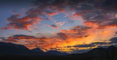Sunsetting over the mountains (Robert Grove 2) Tags: sunset sky jasper