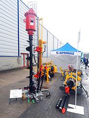 Osprzęt wiertniczy koparkowy OWK produkcji firmy Bipromasz