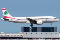 Middle East Airlines Airbus A320-200 T7-MRB | Milano - Malpensa (MXP-LIMC) | 31st May 2019 (Brando Magnani) Tags: