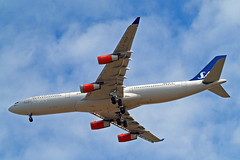 LN-RKP   Airbus A340-313X [167] (SAS Scandinavian Airlines) Home~G 19/07/2015 (raybarber2) Tags: 167 airliner cn167 egll filed flickr lnrkp norwegiancivil planebase raybarber
