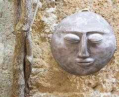 Moon art (phacelias) Tags: marleenroelofs pitigliano toscane italia kunst kunstenaars steen zonnig tuscany italy art artist stone sunny toscana arte artisti pietra solare