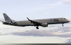 Flybe Embraer 195 G-FBEK @ Isle of Man Airport (EGNS/IOM) (Joshua_Risker) Tags: isle man airport egns iom aviation plane planes avgeek planespotting planespotter jet flybe embraer 195 190 emb emb195 e195 e95 gfbek tt week aircraft