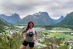 17-06 - Andalsnes - Io con panorama (FedeWatchTheHorizon) Tags: norway norvegia travel travelphotography