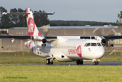 SPSPE ATR72 Sprint Airways (Anhedral) Tags: