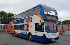 15669 on the 21A's (DGPhotography1999) Tags: wa10ghn 15669 stagecoachdevon stagecoachsouthwest doubledeckerbus northdevonwave stagecoach scania