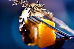 on a fork (johnnyb803) Tags: macromondays stylingfoodonafork macro squash sprouts thyme jcbrown