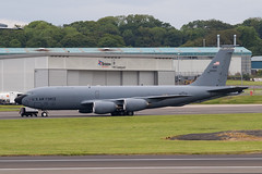 62-3523 KC-135R USAF Prestwick 15.06.19 (Robert Banks 1) Tags: 623523 boeing kc135r k35r kc135 usaf united states air force prestwick egpk pik 22 931 arw mcconnell refuelling wing amc mobility command 23523