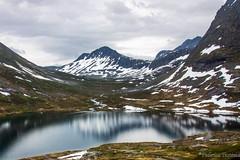16-06 - Geiranger - Mountain reflections (FedeWatchTheHorizon) Tags: norway norvegia travel travelphotography