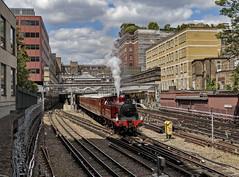Old London town (EltonRoad) Tags: steam train railway line highstreet kensington district underground london ealing broadway museum metropolitan transport 150 lt tfl quainton met 1 heritage chesham