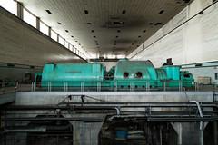 Turbine Side B (michaelbrnd) Tags: abandoned urbex urban exploration industrial power plant