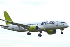 YL-CSD | Air Baltic | Bombardier CS300 (BD 500-1A11) | CN 55006 | Built 2017 | DUB/EIDW 17/05/2019 (Mick Planespotter) Tags: ylcsd air baltic bombardier cs300 bd 5001a11 55006 2017 dub eidw 17052019 aircraft airport 2019 dublinairport collinstown nik sharpenerpro3 flight a220 airplane plane