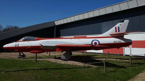 Hawker Hunter F.51 in Lelystad