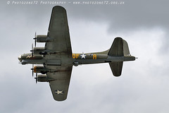 1393 Sally B (photozone72) Tags: dunsfold dunsfoldpark wingswheels warbirds wwii aviation aircraft airshows airshow canon canon100400f4556lii canon7dmk2 7dmk2 sallyb b17 b17bomber flyingfortress