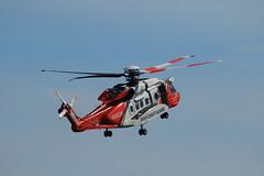Irish Coast Guard S92 helicopter SAR Demo (jon lees) Tags: northernireland countydown newcastle airshow aircraft display