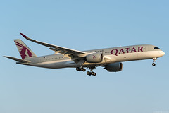 A7-ALP (Andras Regos) Tags: aviation aircraft plane fly airport lhr egll heathrow approach landing qatar qatarairways airbus a350 a359 a350xwb xwb a350900