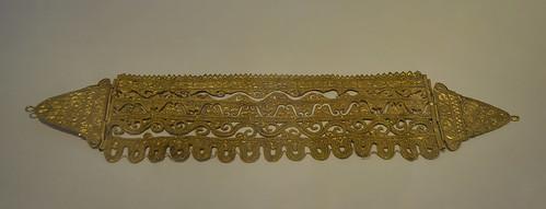 Diadema de oro del Tesoro de Jávea