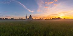 Sunrise (gubanov77) Tags: savinskoe village russia sunrise dawn landscape panorama sky church morning summer summertime glow